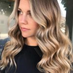 Perfect Golden Blonde Hair Colors for Long Waves for Women 2018