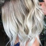 Platinum Balayage Hair Color Ideas for 2018
