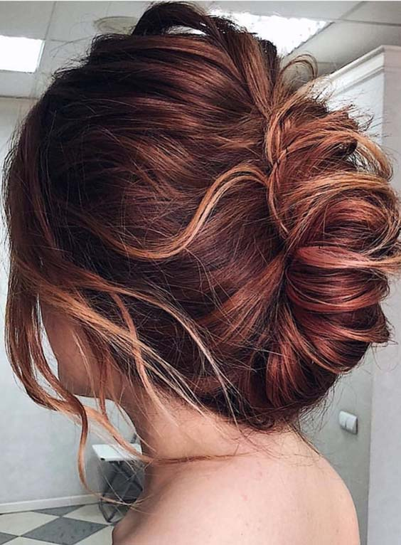23 Pretty Twisted Updos to Wear in 2018