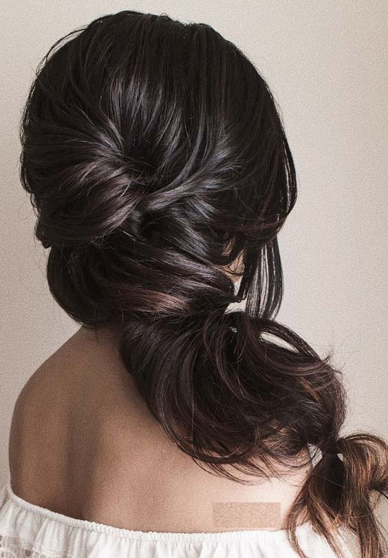 43 Pretty Wedding Hairstyles Trends for Women 2018