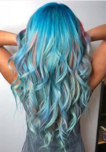 Pulp Riot Hair Colors with Blue Highlights in 2018