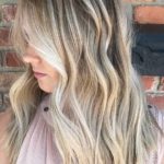 Rooted Beach Blonde Hair Colors & Hairstyles in 2021