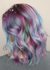 Sensational Pastel Hair Colors & Hairstyles in 2018
