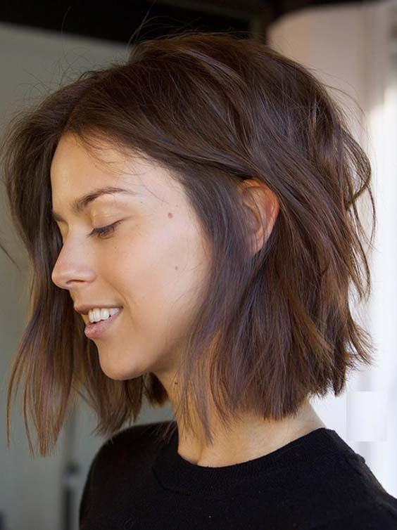 36 Sexy Little Lob Styles Tucked Behind The Ear