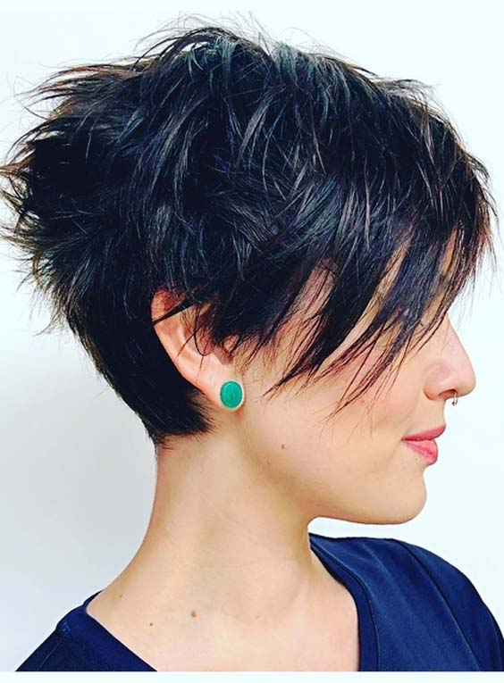 42 Best Short Razor Haircuts for Women in 2018