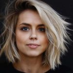 Side Swept Short to Medium Haircuts for 2018