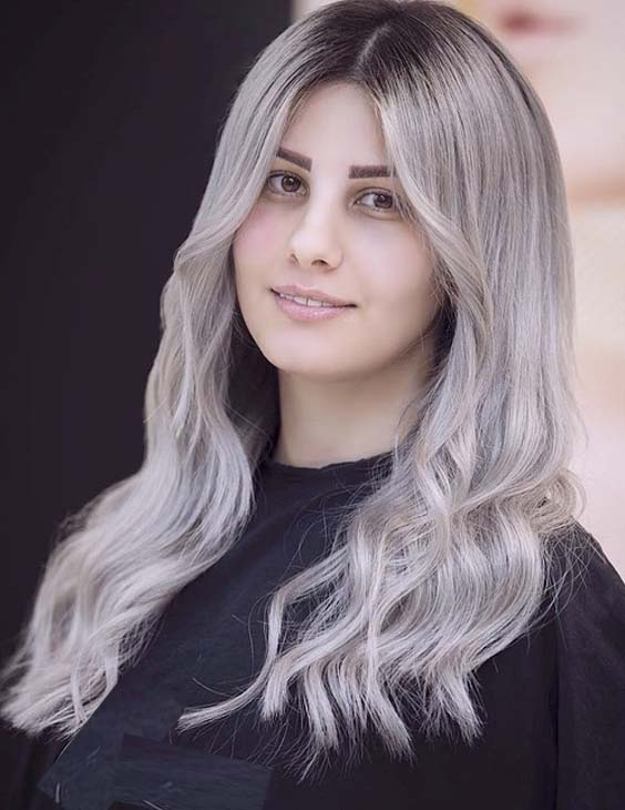 28 Fantastic Silver Grey Hair Color Trends for 2021