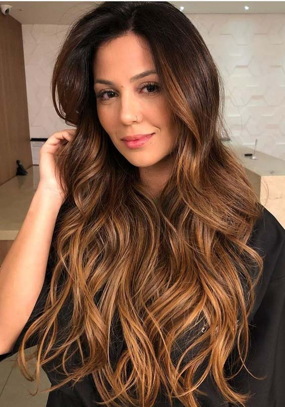28 Stunning Brunette Balayage Highlights to Show Off in 2018
