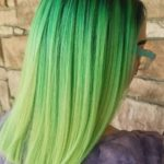 Stunning Green Hair Color Shades in 2018