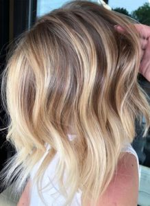 Textures Of Blonde Balayage Haircuts for 2018