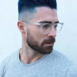 Undercut Short Blue Haircuts for Men 2018