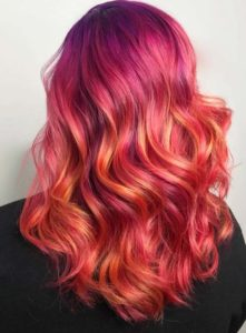 Vibrant Red Hair Color Ideas for 2018