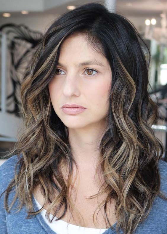 45 Gorgeous Wavy Hairstyles for Long Hair in 2018