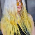 White Blonde & Yellow Hair Color Trends for 2018