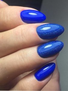 Adorable Blue Nail Art Designs for 2018