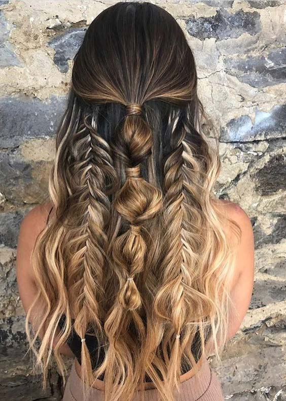 54 Adorable Styles Of Braids for Fashionable Women in 2021