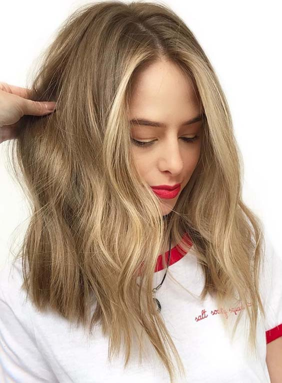 18 Advanced Balayage Hair Color & Highlights in 2021