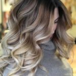 Amazing Balayage Highlights with Dark Roots in 2018