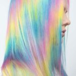 Amazing Pastel Rainbow Hair Color Trends for 2021