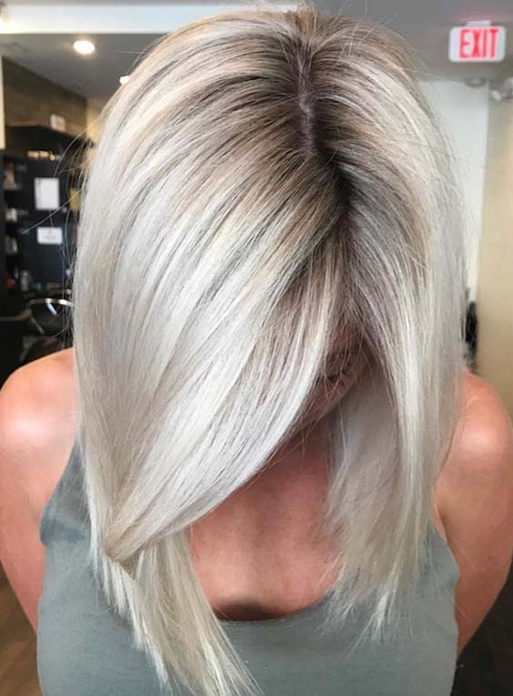 46 Awesome Blonde Balayage Hair Color Styles in 2018