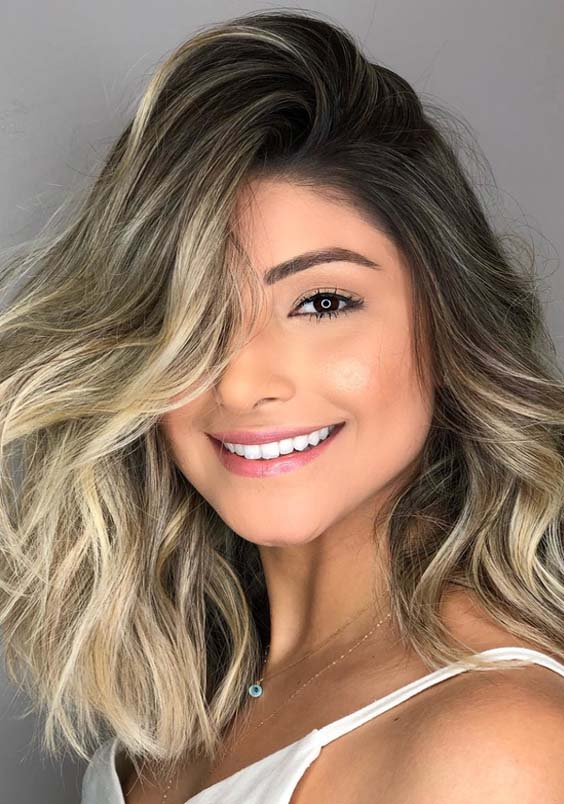 54 Best Balayage Highlights & Hair Color Ideas for 2021