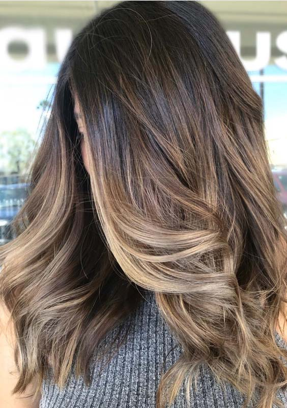 19 Best Brunette Balayage Hair Color Ideas for 2021