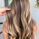 Butterscotch Waterfall Hairstyles & Hair Color Ideas for 2018