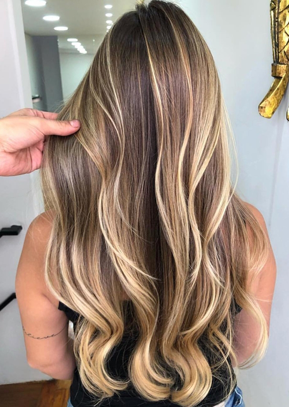23 Best Butterscotch Waterfall Hairstyles & Hair Color Ideas for 2018