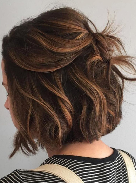 54 Chic Updos for Short Hair to Flaunt in 2021