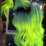 Crazy Neon Hair Color Ideas for Bold Women 2018