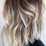 Cream Blonde Balayage Hair Color Ideas for 2021