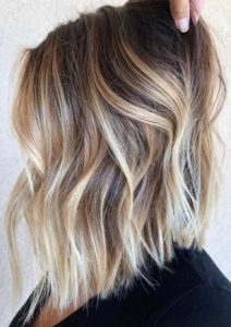 Cream Blonde Balayage Hair Color Ideas for 2018