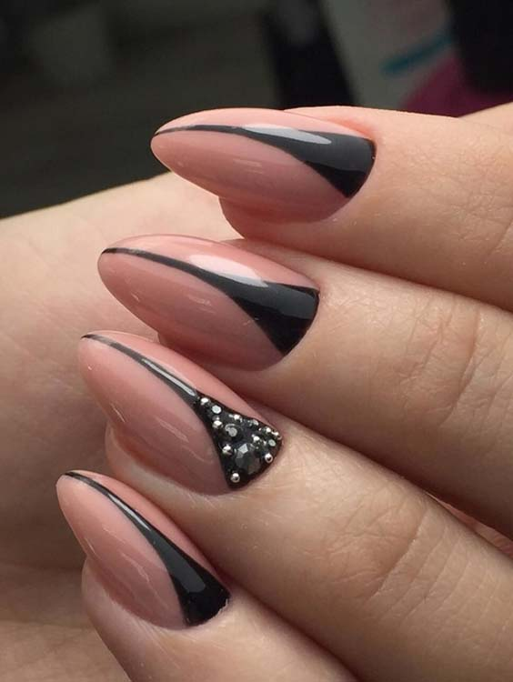 29 Cute Nude Nail Art Designs For Women 2018 Modeshack