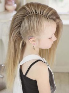 Cute Twisted Mohawk Braids for 2018