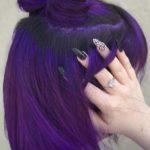 Dark Purple Hair Colors & Haircuts in 2018