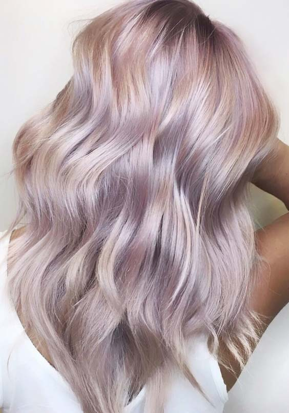 55 Gorgeous Dusty Rose Hair Color Shades to Try in 2021