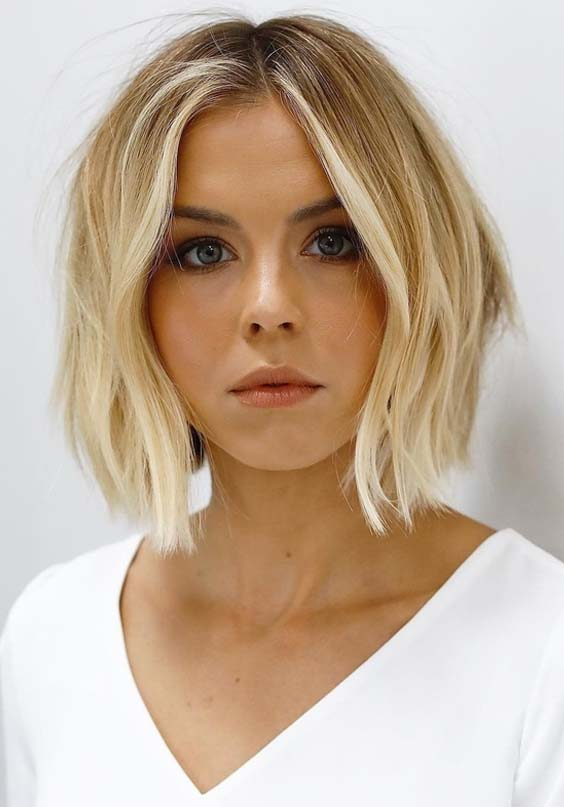 55 Gorgeous Face Framing Short Bob Haircuts for 2021