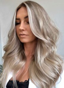 Fantastic Silver Ash Blonde Hair Color Trends for 2021