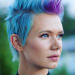 Fantastic Blue Pixie Cuts for Short Hair 2018