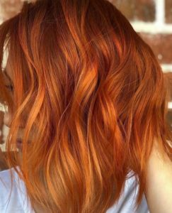 Fiery Copper Red Hair Color Ideas for 2021
