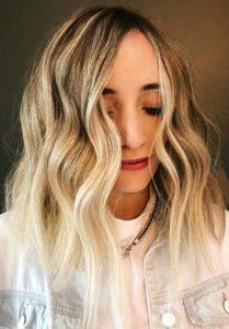 Fresh Choppy Blonde Haircuts inn 2018