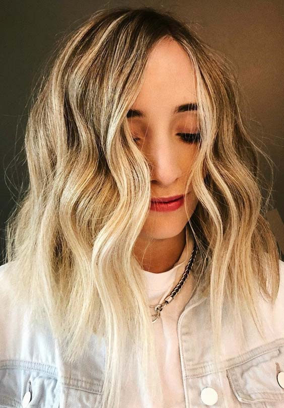 32 Fresh Choppy Blonde Haircuts for Women 2018