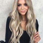 Gorgeous Blonde with Brown Highlights in 2018