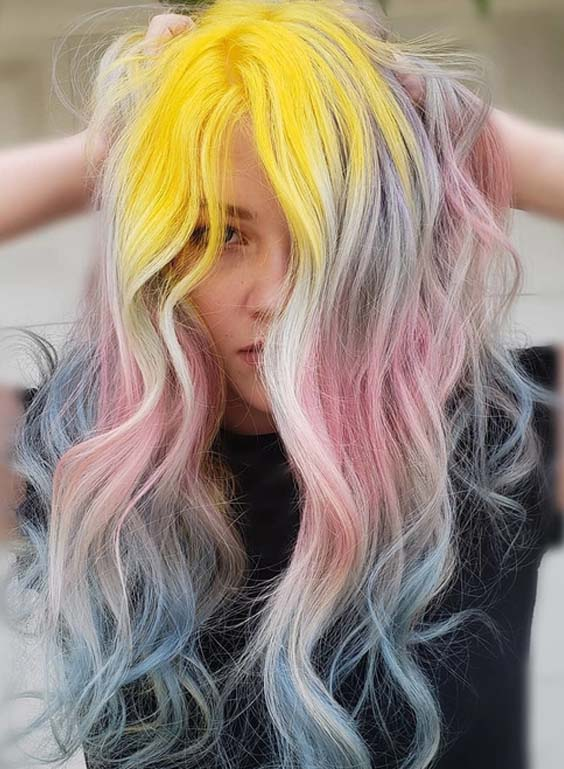 28 Gorgeous Hair Colors Combinations to Show Off in 2018