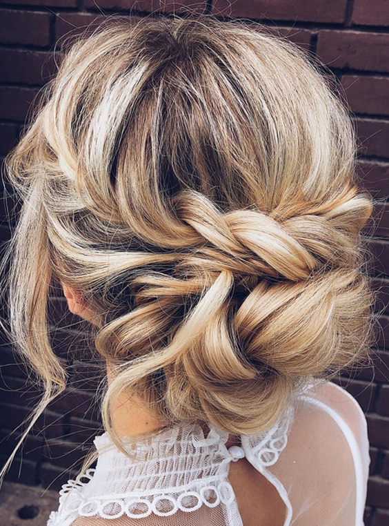 32 Modern Wedding Updos You Need to Create in 2018