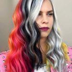 Incredible Hair Color Blocking in 2021
