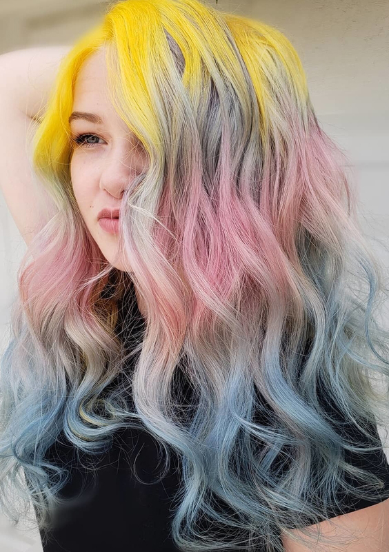 56 Magical Hair Colors Combinations to Try in 2018