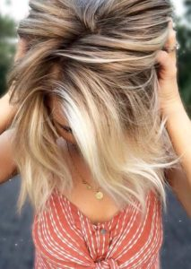 Modern Shades Of Blonde Balayage Hair Colors in 2021