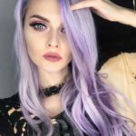 Pastel Lavender Hair Color Styles for 2018