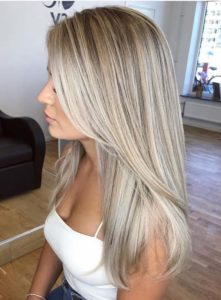 Perfect Blends Of Blonde Balayage Hair Colors for 2018